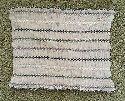 4b9dfc5dace Free People Stretch Strapless Tube Crop Top Emroidered Elastic NWOT M
