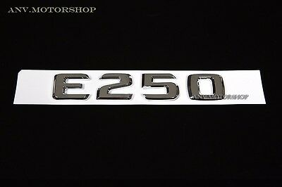 Trunk Rear Emblem Badge Chrome Letters S 500 for Mercedes W220 W221 S-CLASS S500