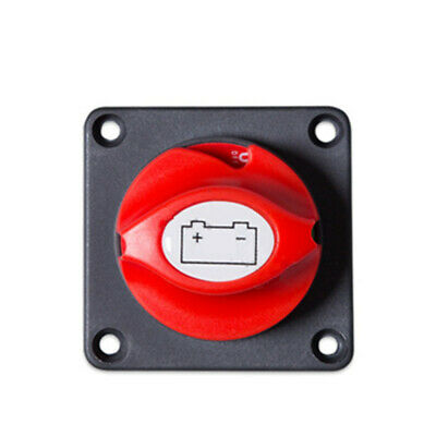 Battery Disconnect Cut On/Off Switch Isolator 12/24V 300A Boat RV ATV Marine