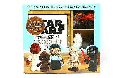 Star Wars Even More Crochet - Instruction Kit w/ Yarn Colors For Jawa & BB-8 New