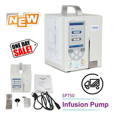 SP750 CONTEC Accurate Infusion Pump Standard IV Fluid Medical Control with Alarm