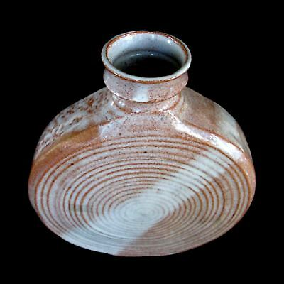 Studio Art Pottery Ancient Sands Pilgrim Moon Flask Decanter Bottle Rare