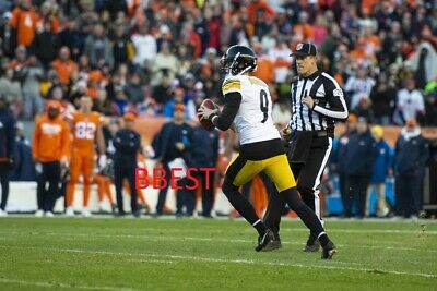 new product c28f4 c17a8 CHRIS BOSWELL PITTSBURGH Steelers Touchdown Pass Vs Broncos 11/25/18 Color  8X10