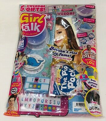 Girl Talk Magazine #628 With AMAZING FREE GIFTS!! (NEW)