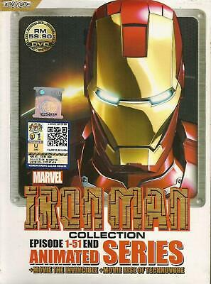 Anime DVD IRON MAN COLLECTION TV.1-51 END Complete Japanese Box Set