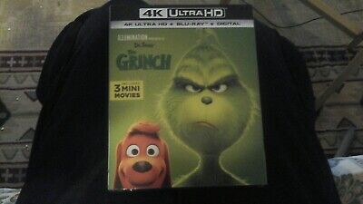 Illumination presents: dr. seuss' the grinch ( 4k Ultra Hd + Blu-Ray + Digital )