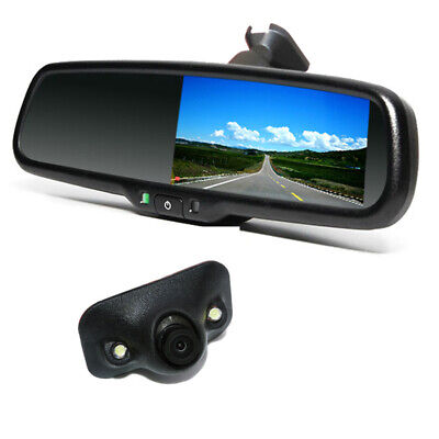 4.3 inch Auto Dimming TFT LCD NTSC Rear View Mirror Monitor with Rear Camera Set
