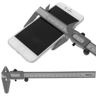 "Vernier Caliper 6"" 0~160mm Stainless Steel Metal Measuring Tool Gauge Micrometer"