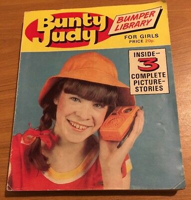 Vintage Bunty Judy Bumper Library For Girls - 3 Complete Picture Stories