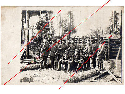Germany WWI photo Soldier Officer Group 34 Infantry Regiment rifle 1914 8 German