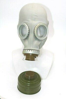 Gas Mask GP-5 with filter Gray Soviet Russian NEW Vintage ALL SIZES authentic