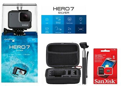 GoPro HERO7 SILVER HD Waterproof chdhc-601+ Protective case Kit NEW SEALED