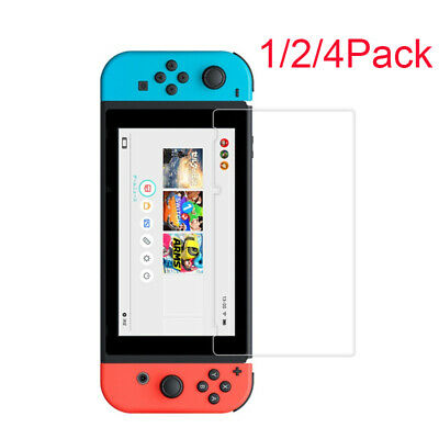 "9H+ Real Premium Tempered Glass Screen Protector Film FOR Nintendo Switch 6.2"" s"