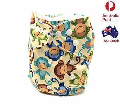Modern Cloth Nappies Diaper Washable Reusable Size Adjustable Pocket Nappy D253