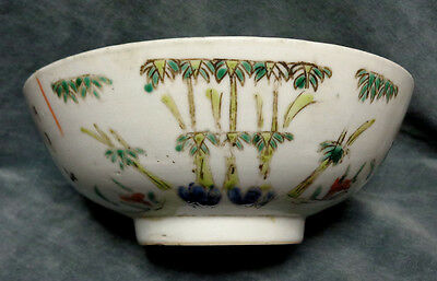 CINA (China): Old and large Chinese porcelain bowl