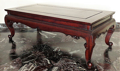 CINA (China): Fine Chinese coffee table made in hardwood (Rosewood ?)
