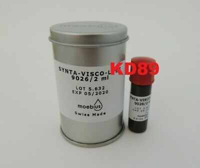 Synthetic oil Moebius 9026 2ml Synt-Visco-Lube for watchmakers SWISS MADE 05/20