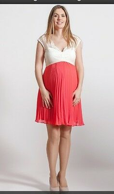b6306b147e74b Rock A Bye Rosie Maternity Dress Ciara Evening Wedding Party Uk 10 Bnwt