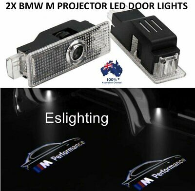 2X M Performance Replacement Door Lamp For Bmw Projector Logo Led Lights Light
