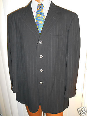 GIANNI VERSACE CLASSIC V2 4 BUTTON BLAZER JACKET Size 42R  BEAUTIFUL FROM ITALY