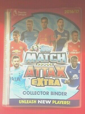 Topps Match Attax Extra 2016/2017 MOTM, HTH, 100 Club, Limited Edition - CHOOSE