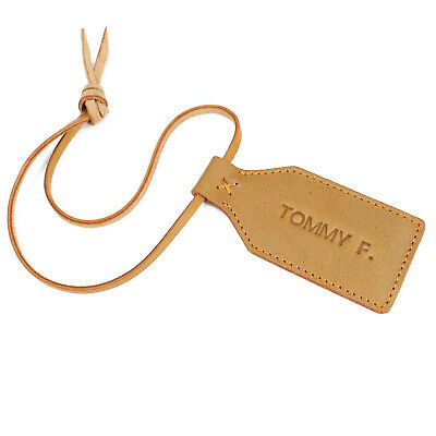 Personalised Leather Luggage Tag Travel Luggage Tag Travel Accessory Bag Tag