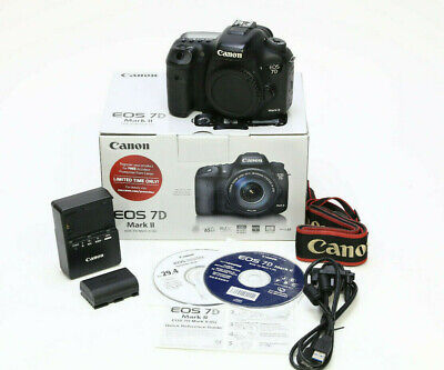 Canon EOS 7D Mark II 20.2MP Digital SLR Camera - 11,189 Clicks!
