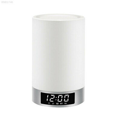 786A Bluetooth 4.0 Wireless Speaker Music LED Table Night Light Lamp with Mic