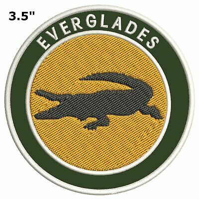 Explore Everglades National Park Embroidered Patch Iron / Sew-On Souvenir Nature