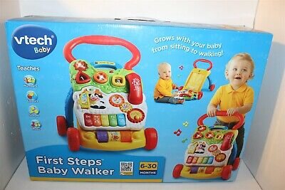 Vtech Baby First Steps Baby Walker Age 6-30 Months Brand New