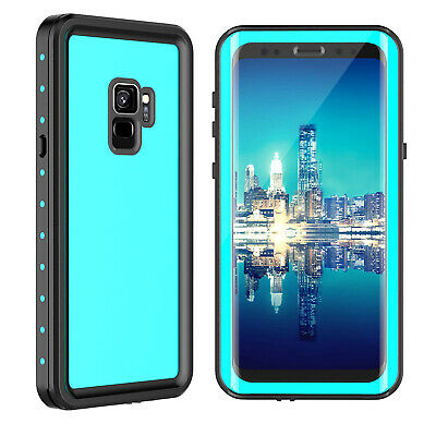 For Samsung S9 Plus/S9 Waterproof Case Support Wireless Charging Shockproof Case