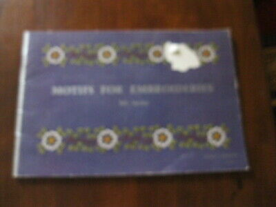 D.M.C Library: Motifs for Embroideries: 5th series: Vintage 1965 :Preloved