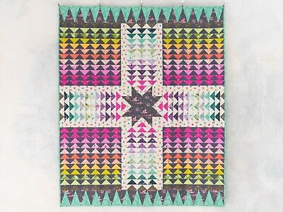 OOP Wayfinder Quilt Kit featuring Spirt Animal fabric by Tula Pink