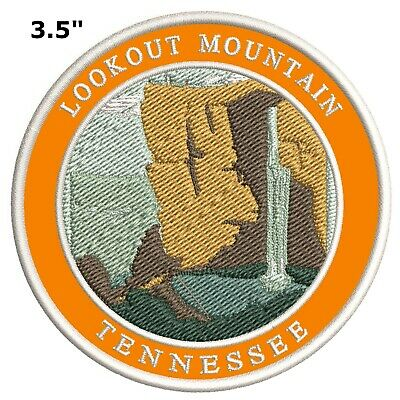 Explore Lookout Mountain Tennessee Embroidered Patch Iron / Sew-On Souvenir