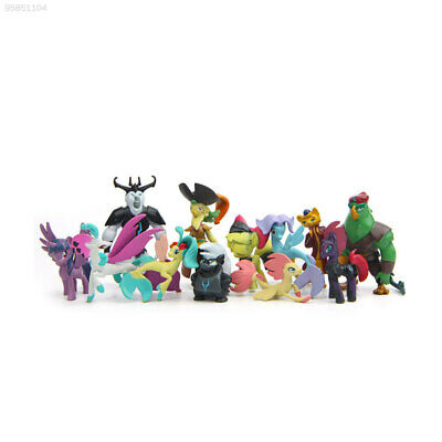 1EEE 12Pcs Little Horse Action Figure Figurine Doll Movie Characters Kids