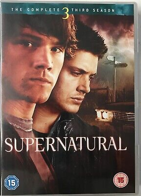 Supernatural Complete Third Season (5DVD) Used  Free UK P&P