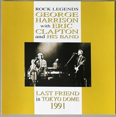 GEORGE HARRISON with ERIC CLAPTON and HIS BAND - LAST FRIEND 2CD MAIN STREAM