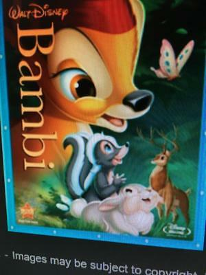 DISNEY BAMBI -  Used BLU-RAY Disc ONLY * PLEASE READ DESCRIPTION