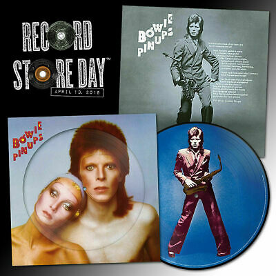 Lp David Bowie - Pin Ups - Picture Disc - Rsd 2019