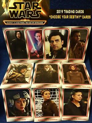 2019 Topps Star Wars Journey to Rise of Skywalker Choose Your Destiny Insert Set