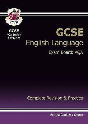 GCSE English Language AQA Complete Revision & Practice by CGP New Paperback Book