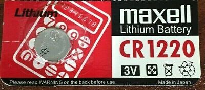 CR1220 3v  Lithium Button Cell Battery Fest fast Melbourne Shipping