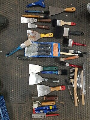 used lot of decorating tools