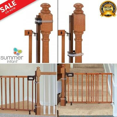 Summer Infant Banister Banister Stairway Baby Gate Mounting Kit wood 37inch