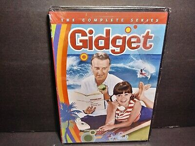 Gidget: The Complete Series (DVD, 2014, 3-Disc Set) Sally Field Brand New B338
