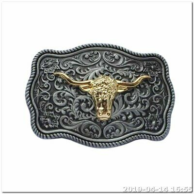 """WITH FREE SHIPPING!! /""""BB110/"""" DECORATIVE WESTERN STYLE BELT BUCKLE MADE IN U.S.A"""