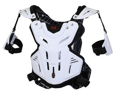 Evs F2 Youth Chest Protector Black Or White Mx Enduro Off Road Mx Quad
