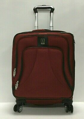 """TravelPro 406119009 Walkabout 4'20"""" Exp Spinner Widebody Suitcase Luggage Red"""