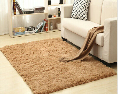 Non-slip Silky Thick Carpet Living Room Coffee Table Bedroom Bedside Yoga Mat