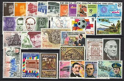 1980 España ** Año 1980 Completo, MNH - SPAIN FULL YEAR